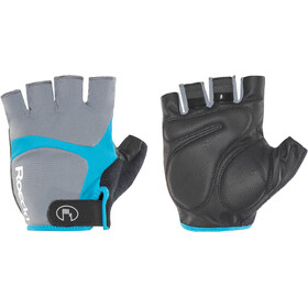 Roeckl Badi Gants, grey/hawaii blue